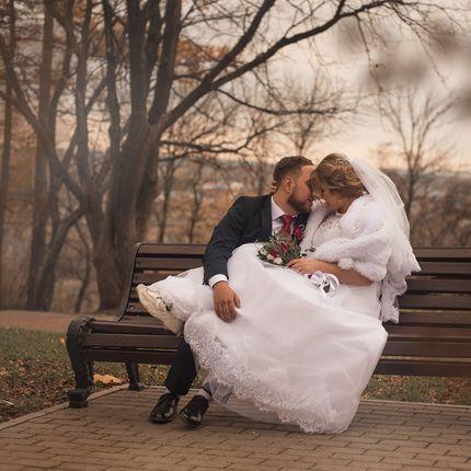 Фотосъёмка в ЗАГСе + свадебная фотосессия