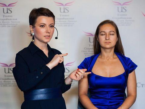 Мастер-класс по свадебному и антивозрастному макияжу стилиста Ульяны Старобинской
