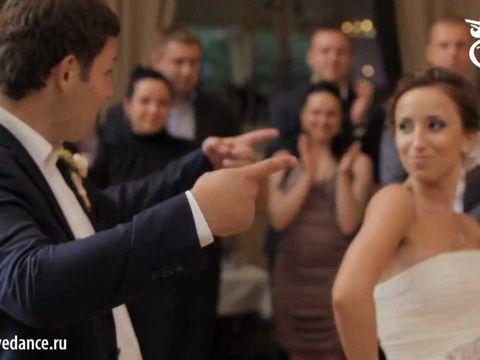 Оригинальный свадебный танец в стиле Фанк!!!