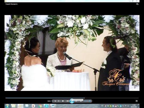 Песочная церемония от свадебной Феи Риммы Чистяковой