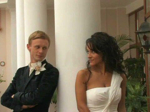 Свадебное видео, фрагмент фильма.