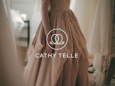 Making of Cathy Telle wedding dress