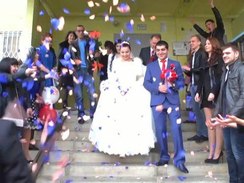 Красивая свадьба Гарика и Анжелы 57