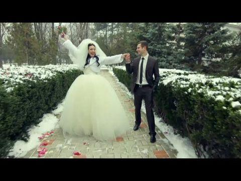 Красивая зимняя свадьба Константина Эльвира 71