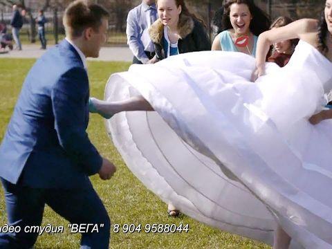 Красивая весенняя свадьба Сергея и Риты 76