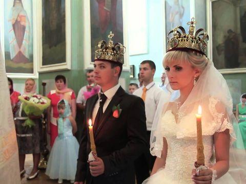 Венчание в храме Иоакима и Анны (Коренная Пустынь)