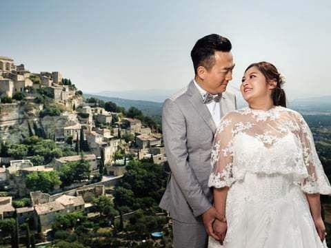 Предсвадебное видео в Провансе: Raymond & Wendy