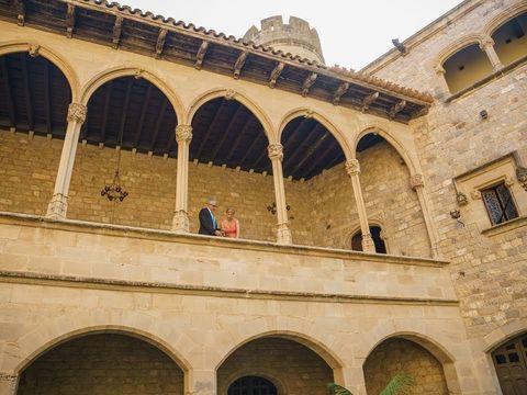 Свадьба в замке. Свадьба в Испании.