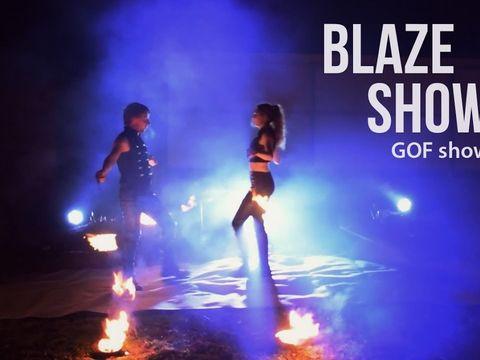 Фаер шоу на праздник - Blaze | GOF show | Ростов