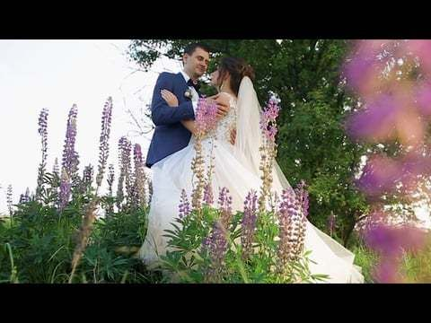 Myhailo & Mariana. Wedding clip Love in film production