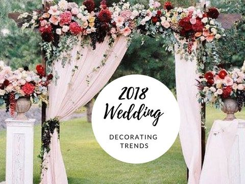 2018 Wedding Floral Trends & Ideas