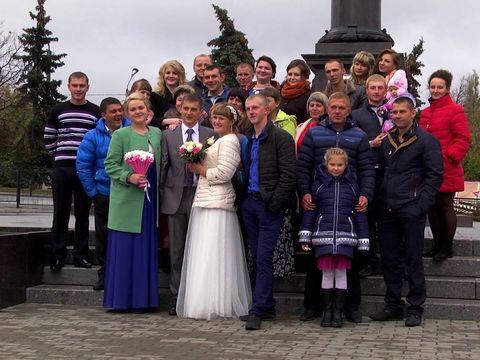 Свадьба в Ельце.Александр и Анастасия