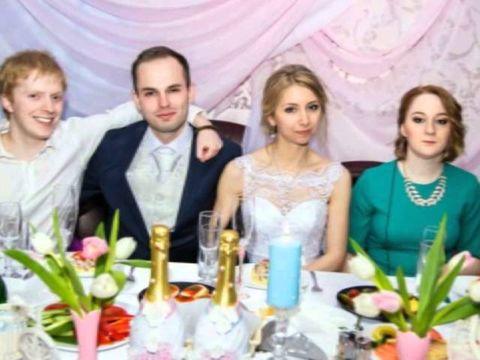 оформление свадьбы - розовый и голубой цвет. Рязань