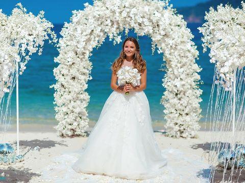 белоснежная свадьба