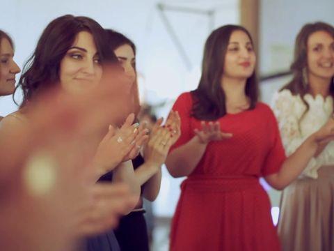 Большая красивая армянская свадьба