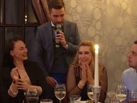 Свадебный интерактив на знакомство с гостями