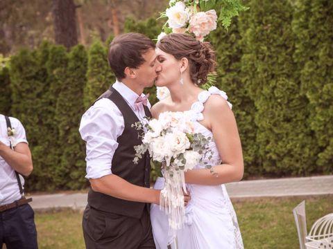 свадьба в стиле Shabby chic Елены и Александра
