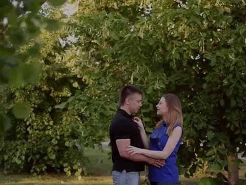 Романтическая прогулка Максима и Инны