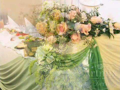 Свадебное оформление от дизайн-студии Артмикс