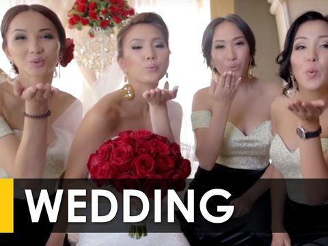 Лучшая свадьба Кыргызстана 2015